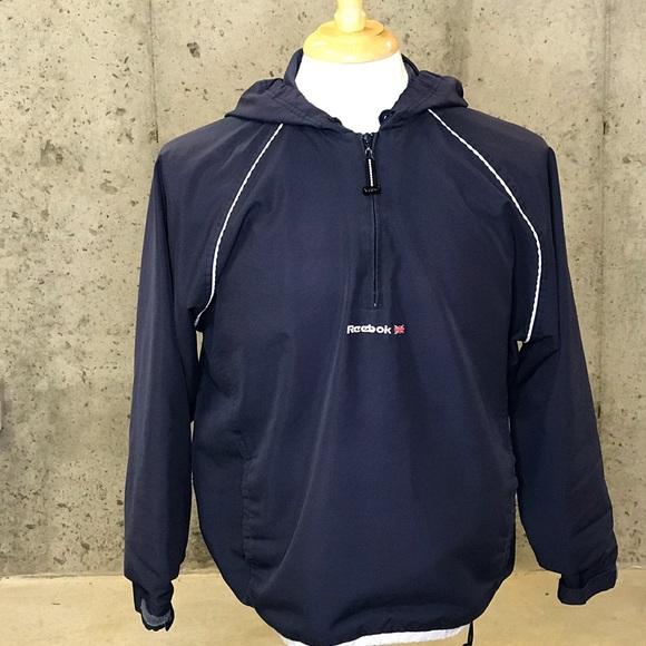 Reebok Other - Vintage Reebok Half Zip Windbreaker Jacket Size L